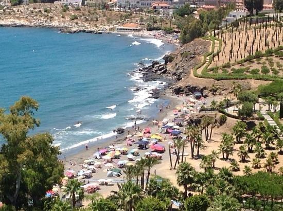 Playacalida Spa Hotel: vistas desde la habitacion