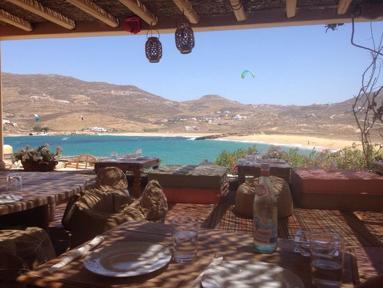 Ftelia Restaurant: View from the restaurant