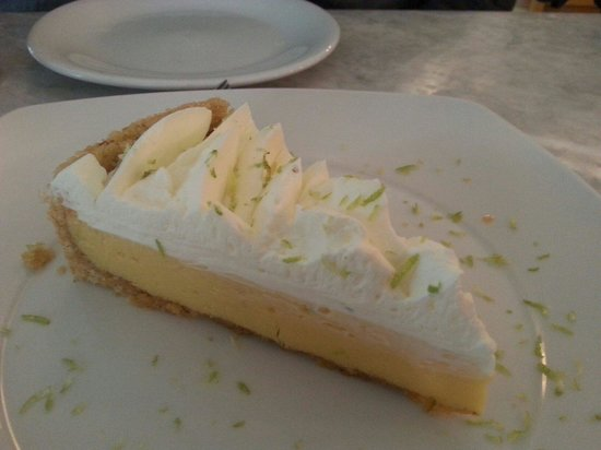 Agua y Sal Cebichería: Out-of-this-world key lime pie