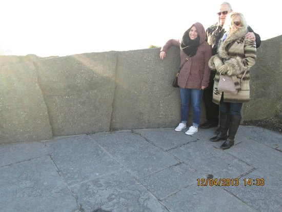 Galway Tour Company: At the Cliffs of Moher - December 2013