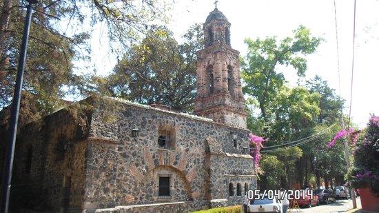 Coyoacán: Paróquia de San Sebastian