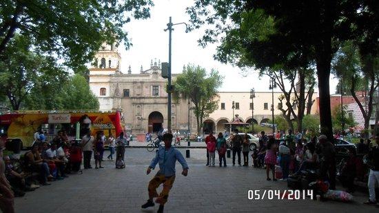 Coyoacán: Jardim Centenário