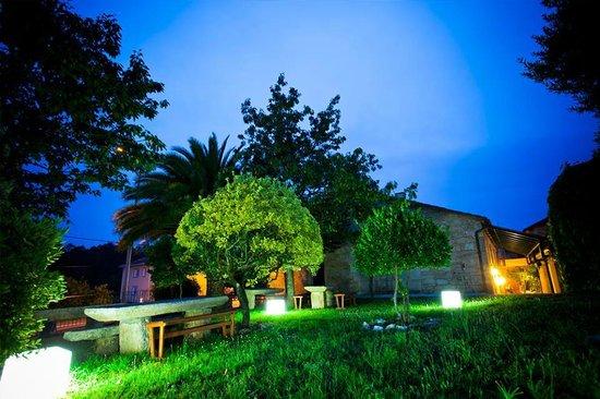 asador de roxos : Jardines del Hotel Restaurante
