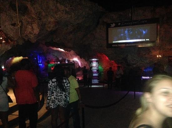 Imagine Punta Cana Disco: Entrance to the cave inside