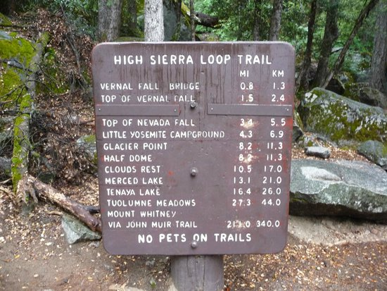 Panorama Trail : At the trailhead