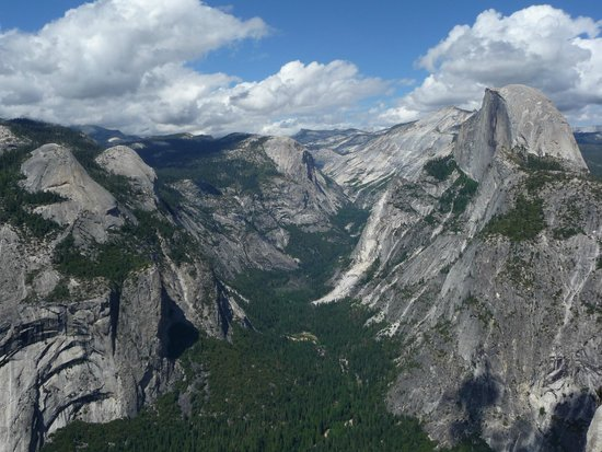 Panorama Trail : View from Glacier Point