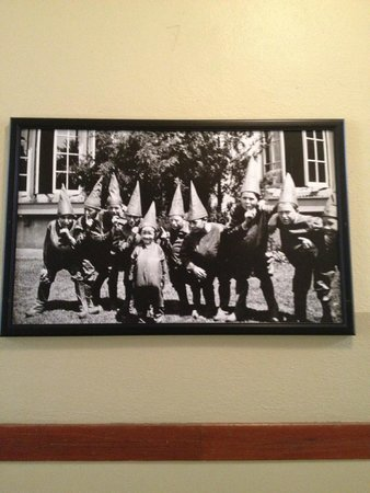 McMenamins Kennedy School: Artwork/photos in the hotel