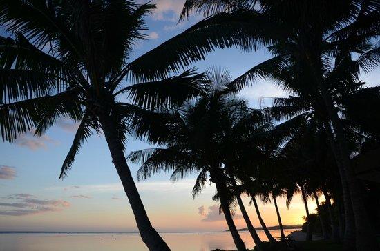 Bedarra Beach Inn: Sunset at Bedarra