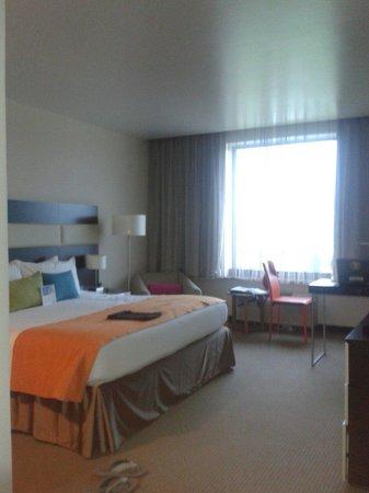 Park Inn by Radisson San Jose: Buen espacio en la habitacion Deluxe o ejecutiva y llena los standares.