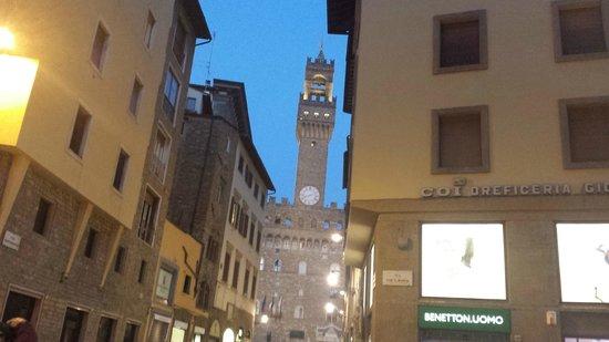 Museo di Palazzo Vecchio: Vista da Torre de Arnolfo, Palazzo Vecchio.