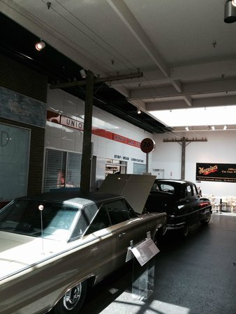 National Automobile Museum : View of one of the exhibits