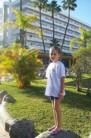 SENTIDO Gran Canaria Princess: VEDUTA DAL GIARDINO