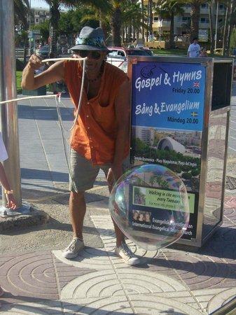 SENTIDO Gran Canaria Princess: ATTRAZIONE FUORI DALL'HOTEL