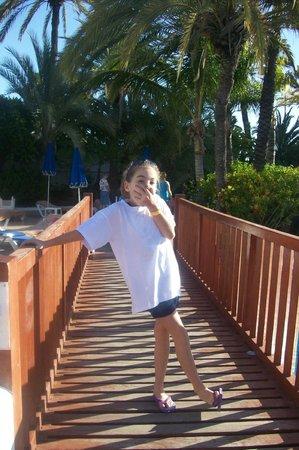SENTIDO Gran Canaria Princess: SUL PONTE DELLE PISCINE