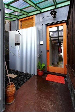 The Lotus Garden Hilo: Back door