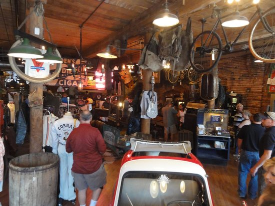 View of inside the store picture of antique archaeology for Antique stores in nashville