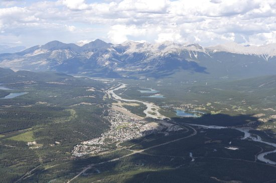 Jasper SkyTram : View from the top