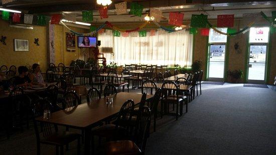 El Rey: Extensive seating area.