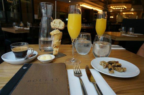 Chez Boulay-bistro boréal : Bread & butter, espresso, mimosas, homemade granola