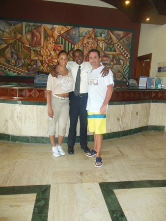 Grand Bahia Principe Turquesa: Our buddy Alex.....what a guy....!!