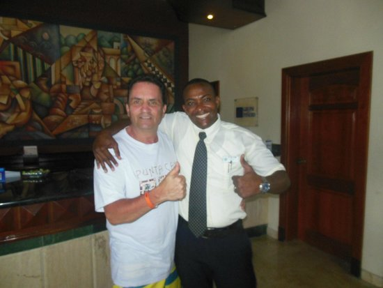 Grand Bahia Principe Turquesa: Alex ....my main man....thanks buddy...