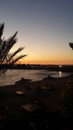 Desert Rose Resort : Sunset from 8220