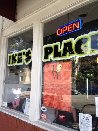 Ike's Place: A must stop while in San Francisco!