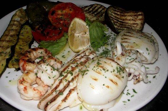 Hotel alla Campagna: Pesce alla brace / Grilled fish