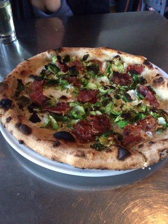Pizzeria Verita : Brussels sprouts pizza