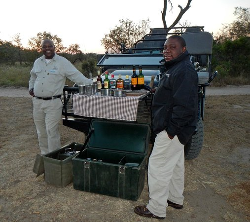 Dulini Lodge : A break from a wonderful game drive