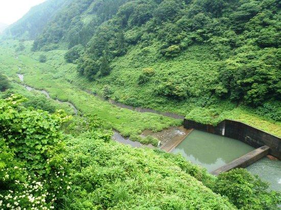 Asahi Ogawa Dam: 川下
