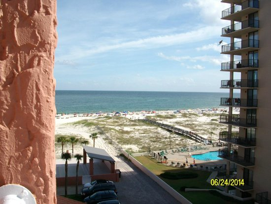 Perdido Beach Resort: This is the view from room 4024, West Tower.