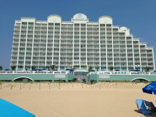 Hilton Suites Ocean City Oceanfront: From the beach