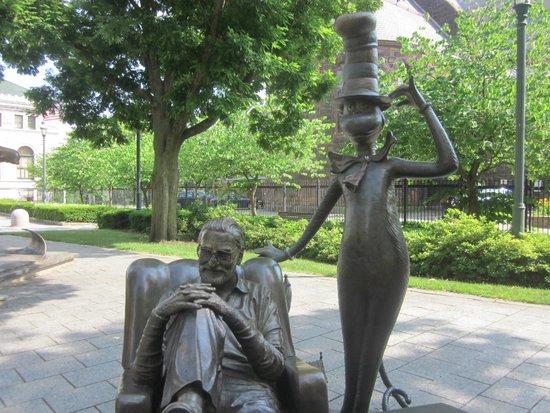Seuss Sculpture Picture Of Dr Seuss National Memorial Sculpture Garden Springfield Tripadvisor