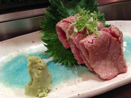 Oga's Japanese Cuisine : Torched toro