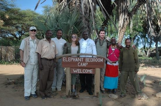 Elephant Bedroom Camp: great staff!
