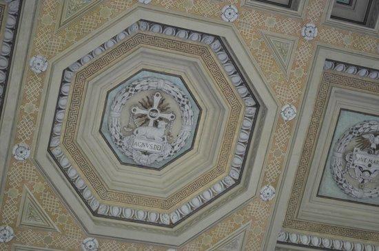 Abbazia di San Paolo fuori le Mura : o teto