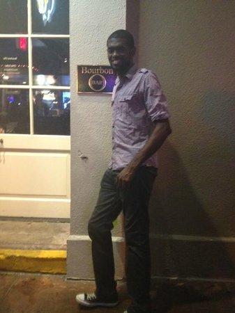 Bourbon Street : pose