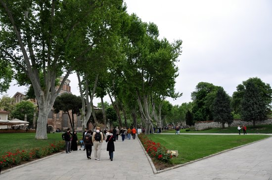 Topkapi Palace grounds