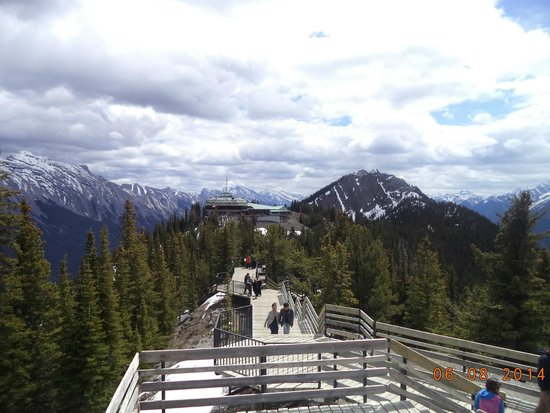 Banff Gondola: Desde arriba