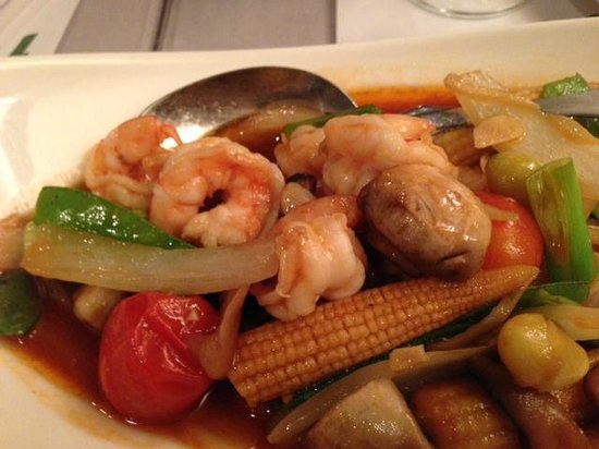 Amarin of Thailand: Another seafood dish - very good