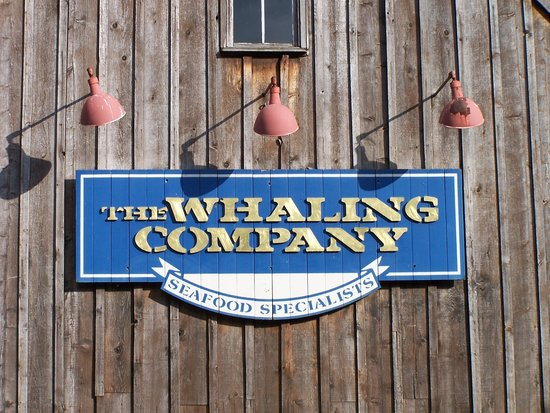 The Whaling Company: Sign