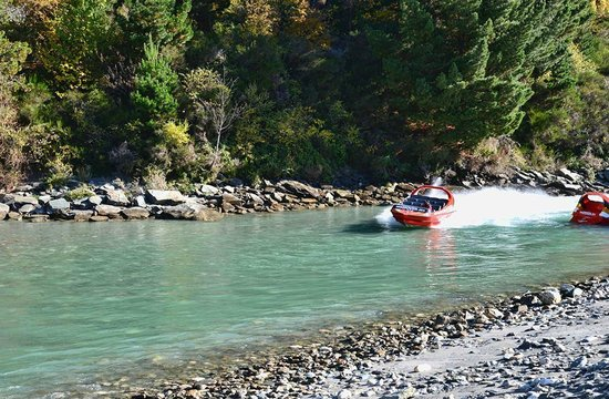 Speargrass Rise Bed and Breakfast: Shotover jet