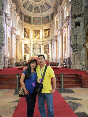 Monasterio de los Jerónimos: depan biara
