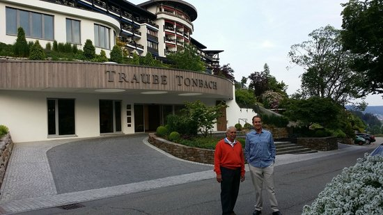 Hotel Traube Tonbach : Entrance