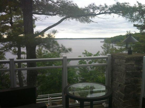 Touchstone Resort on Lake Muskoka : View from the Spa Studio suite!