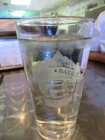 Three Barrel Brewing Co: 3 Barrels glass