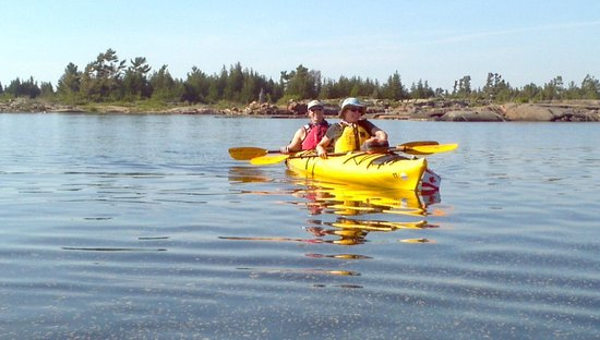 White Squall Paddling Centre : Our tandem kayak