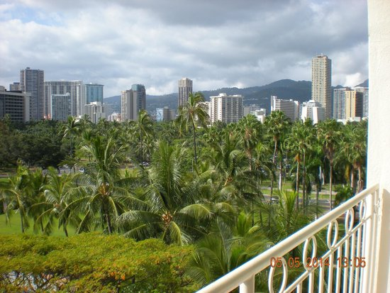Waikiki Shore: from our balcony