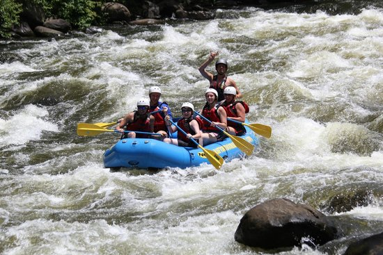 Outdoor Adventures, Inc.: Rafting with Rabbit!!